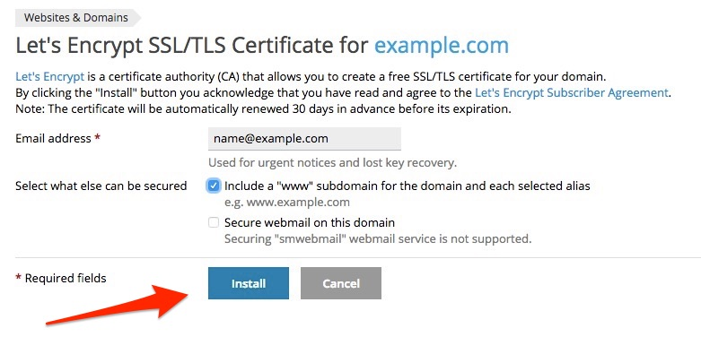 How To Install Let\'s Encrypt SSL Certificate on Domain or Sub-domain ...